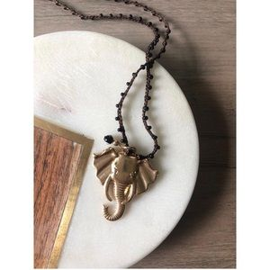 🔥SALE- 4/$20      Blee Inara Elephant Necklace